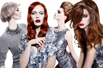 Kolekce účesů SoftHard kadeřnictví Hair Art Design