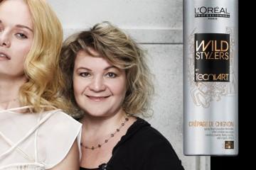 Irena Vavrušková a její glamour účes Golden lob