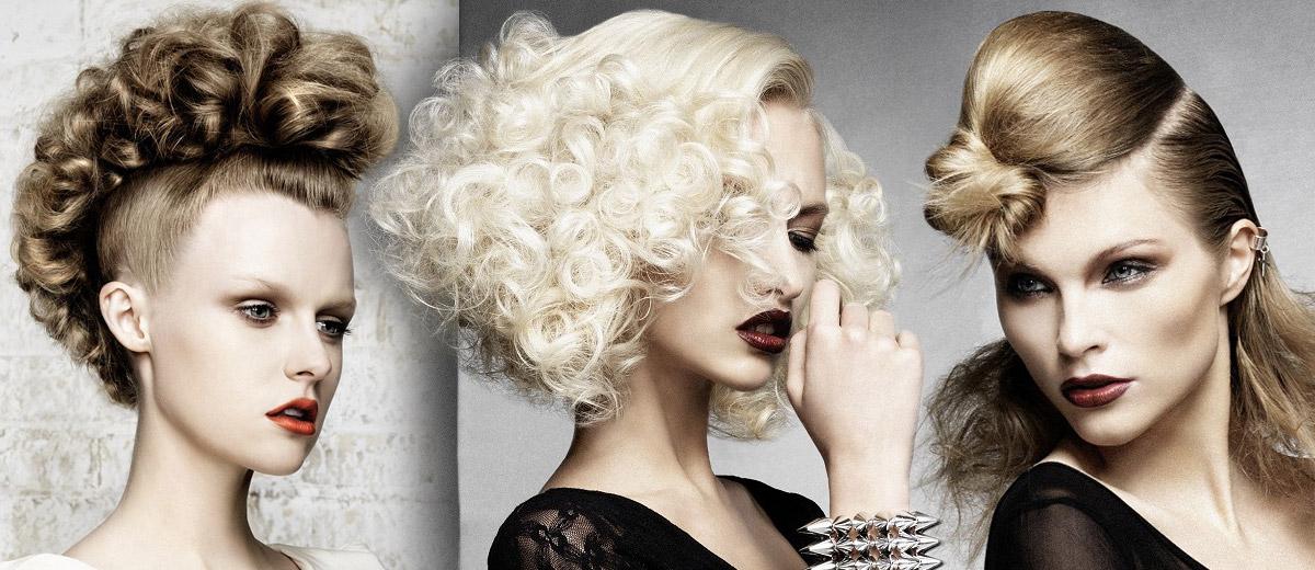 Galerie účesů – blond vlasy