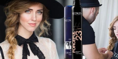 Chiara Ferragni, jedna z nejslavnějších módních blogerek světa, vytvořila s Redken tři skvělé účesy. Podívejte se na první – na pletený silný cop!
