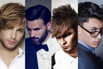 Víte, jaké pánské účesy se právě nosí? Podívejte se na nové účesy pro muže pro podzim/zima 2014/2015. Účesová móda je tady i pro pány!