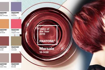 Jak kombinovat účes v barvě roku 2015 s barvou oblečení? Podívejte se na kombinace barev, se kterými bude účes v barvě Marsala skutečnou módou!