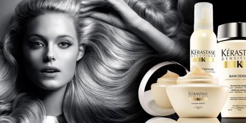 Kérastase se chlubí kosmetickou řadou Kérastase Densifique u kterého byla větší hustota, pevnost a bohatost vlasů prokázaná u 82% žen. Stojí za vyzkoušení?