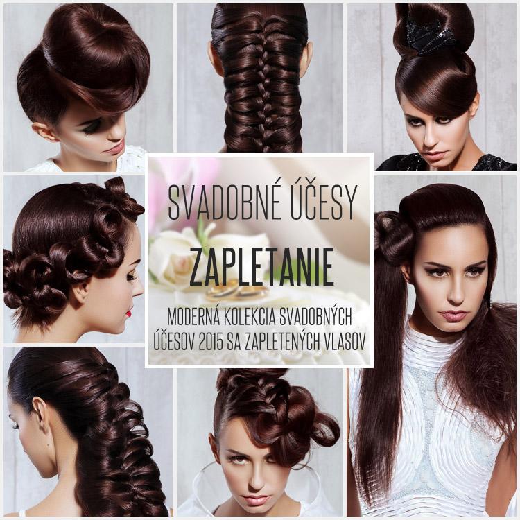 15e1ebc0f Svadobné účesy z dlhých vlasov 2015 – zapleťte je po vzore kolekcie účesov  Christine Margossian.