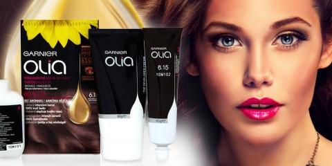 Bezamoniakové a olejové barvy na vlasy Olia Garnier přinesly letos novinky v podobě přirozeně vypadajících ledově hnědých odstínů.