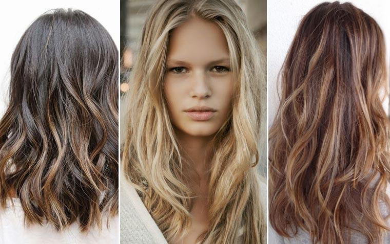 melíry na hnědé vlasy