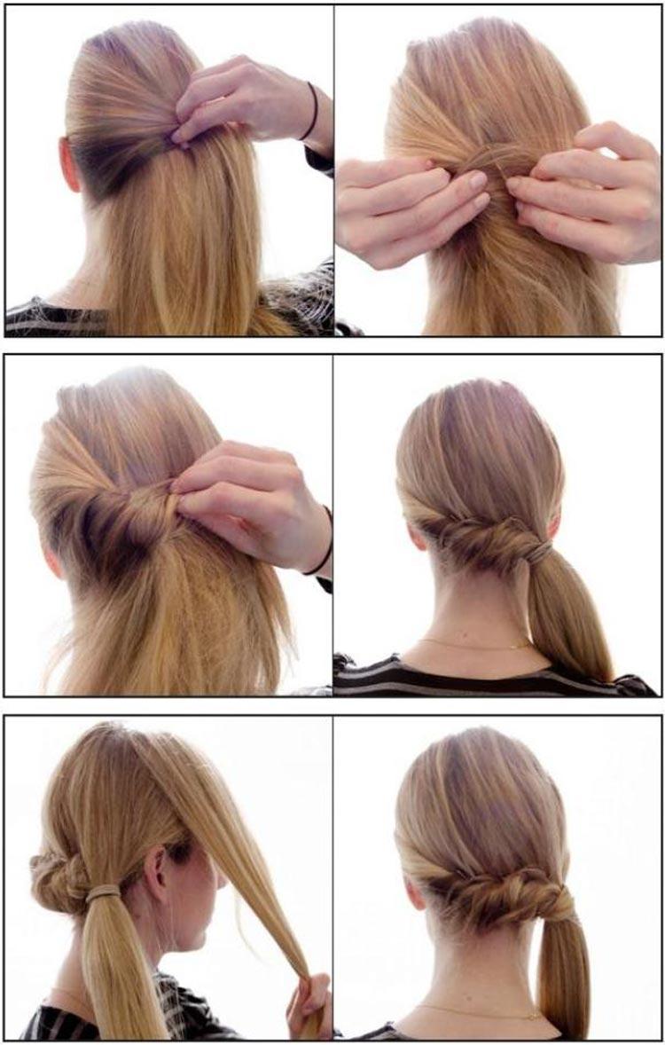 Jednoduch Esy Pro Dlouh Vlasy Hork Tipy
