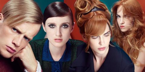 Italská značka Framesi své účesy pro sezónu podzim/zima 2015/2016 stylizovala jako retro účesy a inspiraci tím nejlepším z účesů 60. a 70. let.