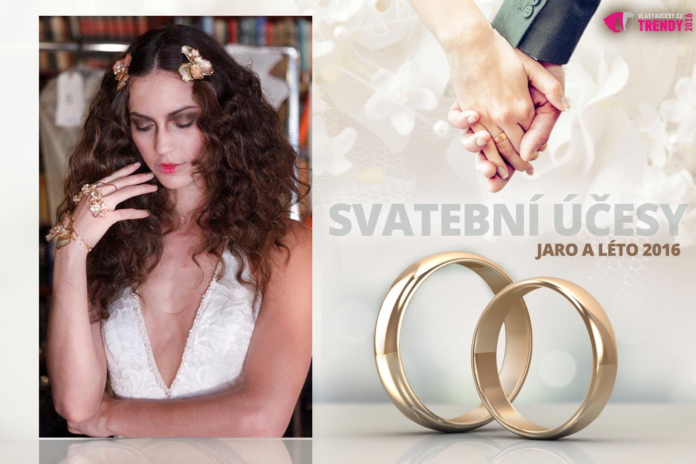 Svatební účesy pro jaro a léto 2016 ke kolekci svatebních šatů Galia Lahav.