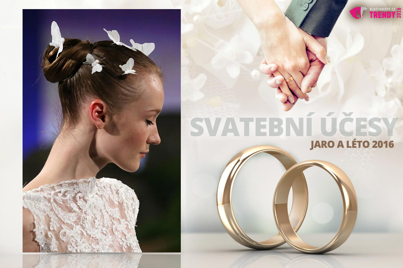 Svatební účesy pro jaro a léto 2016 ke kolekci svatebních šatů Ines Di Santo.