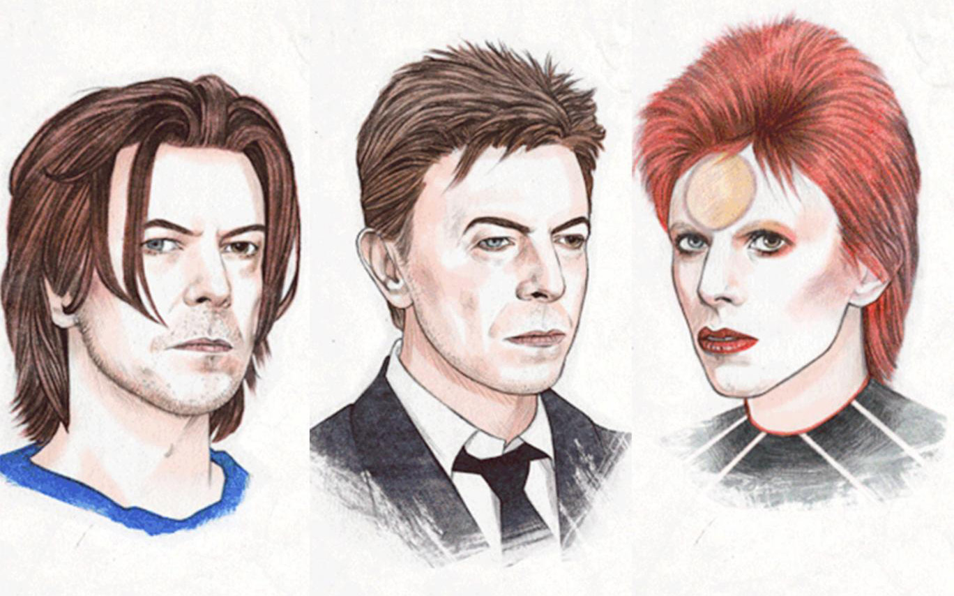 Pocta Helen Green účesům a stylu Davida Bowie