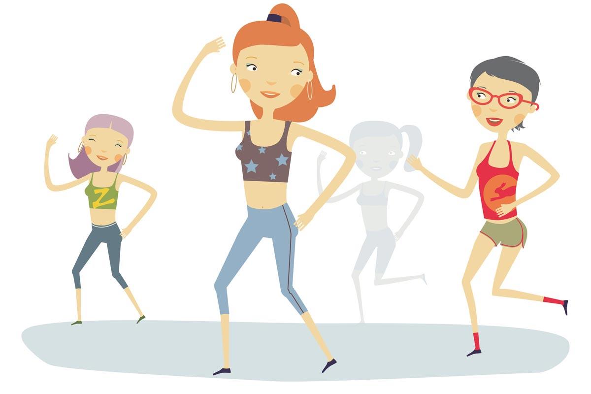 Cvičit nestačí. Abyste zhubly, musíte cvičit při správné tepové frekvenci a se správnou intenzitou.