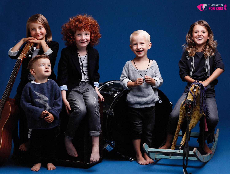 Dětské účesy 2016 podle Petry Měchurové – dětská kolekce ORIGIN KIDS.