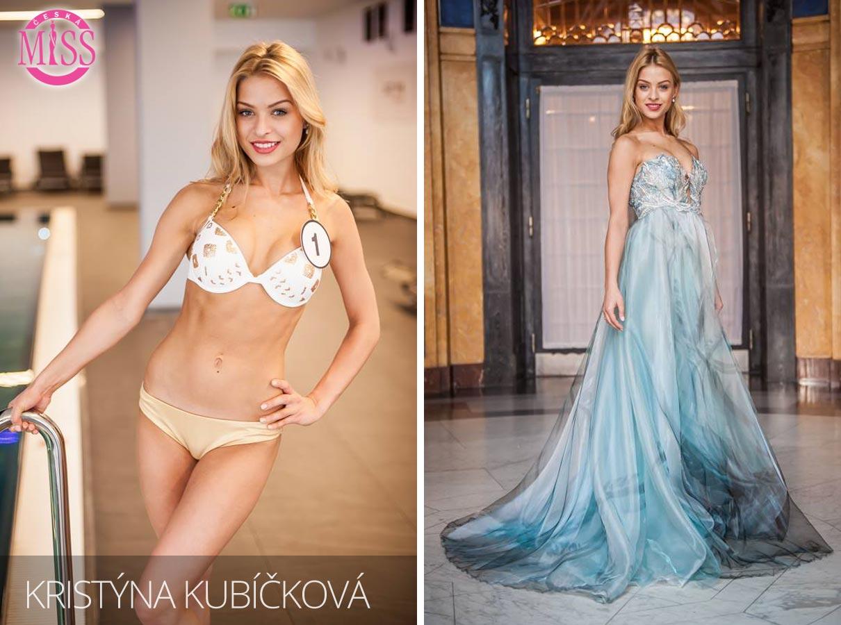 "Finalistka č.1 Česká Miss 2016 Kristýna Kubíčková (plavky: <a href=""http://www.anrdoezrs.net/links/7863143/type/dlg/http://www.astratex.cz/plavky/"" target=""_blank"">Astratex</a>, šaty: Blanka Matragi)"