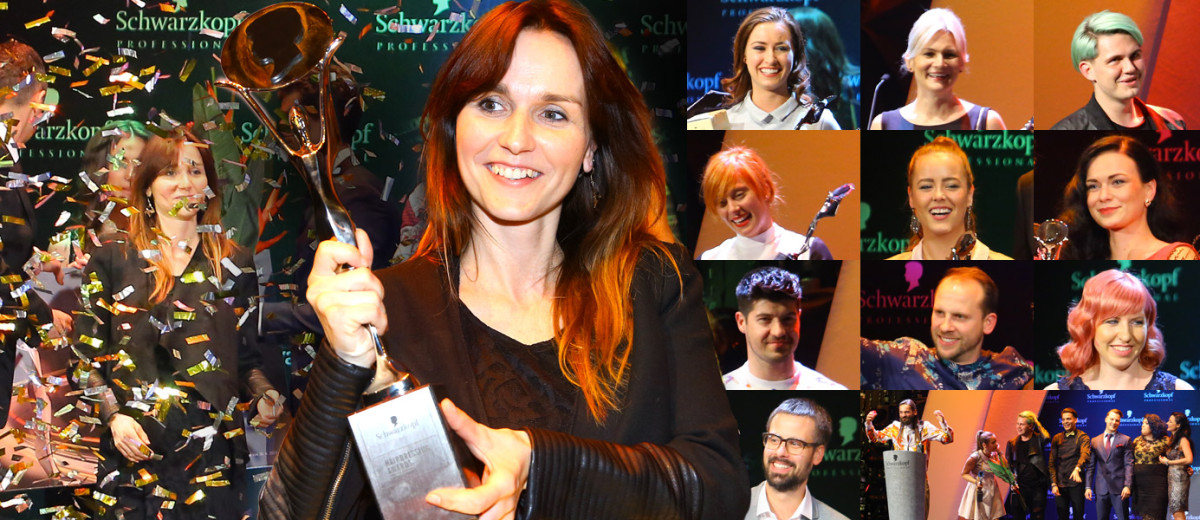 Po slavnostním galavečeru Czech and Slovak Hairdressing Awards – Kadeřník roku 2015 známe nejlepší české a slovenské kadeřníky.