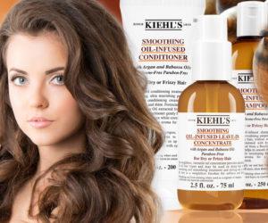 Na suché vlasy platí olejová péče. Značka Kiehl's Since 1851 teď přichází s vlasovou kosmetiku, která obsahuje arganový a babassový olej.
