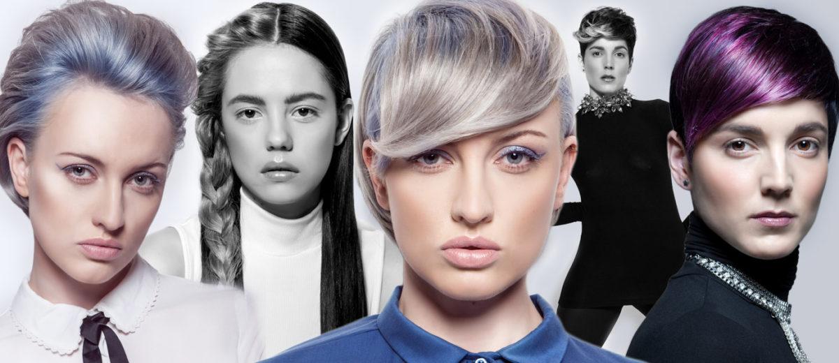 Honza Kořínek představuje další slíbenou kolekci s trendy účesy 2016 – The Women Power. Nechybí šedé vlasy, candy blond ani fialové probarvení.