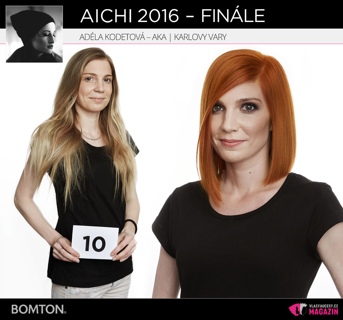 Adéla Kodetová – AKA, Karlovy Vary | Proměny AICHI 2016 – postupující do finálového kola