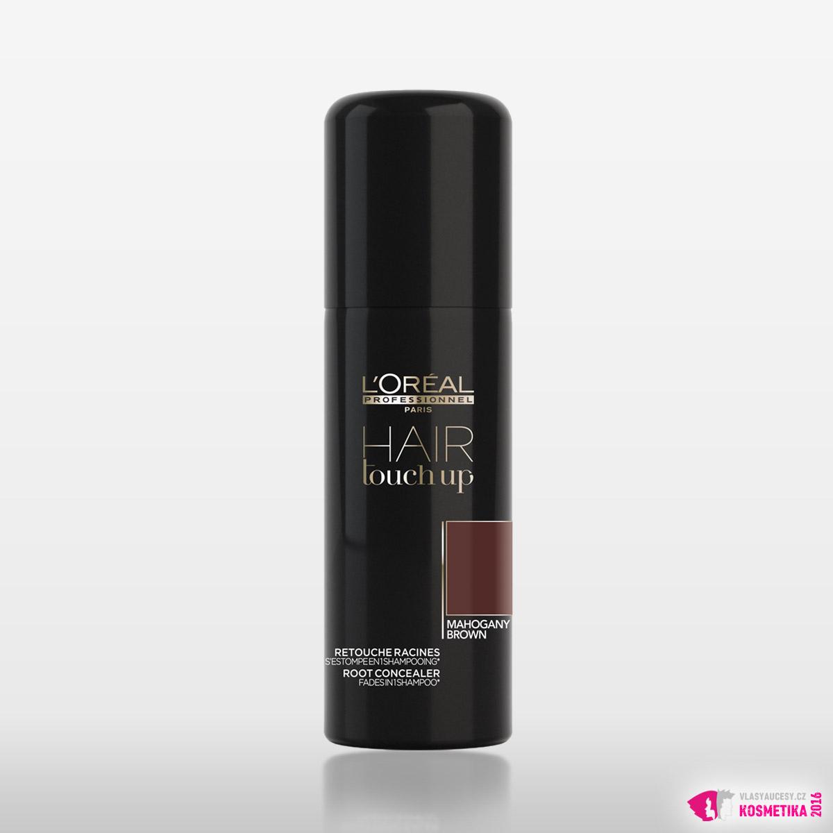 Krycí sprej na odrosty Hair Touch Up v barvě magahonu
