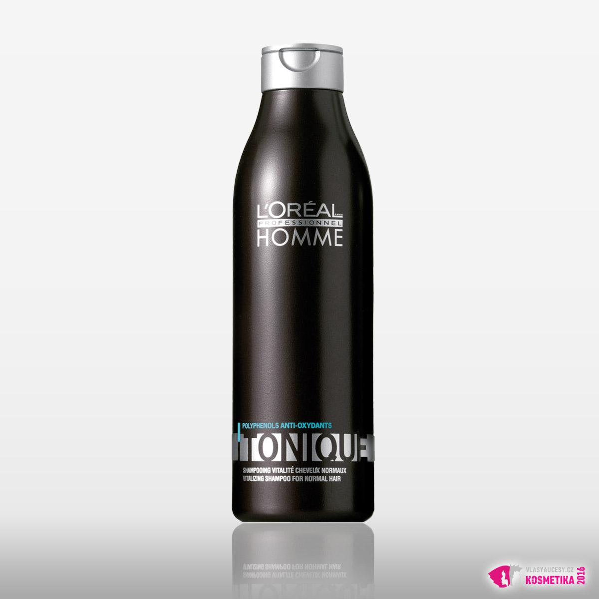 Šampon Tonique od L'Oréal Professionnel Homme / 250ml, 249 Kč / 9,90 €