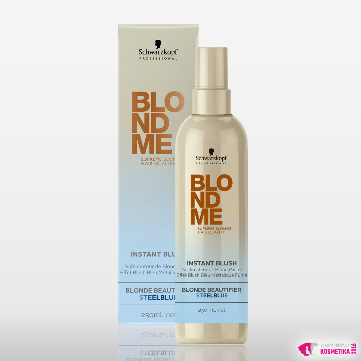 BlondMe Instant Blush - Blonde Beautifier Steelblue od Schwarzkopf Professional