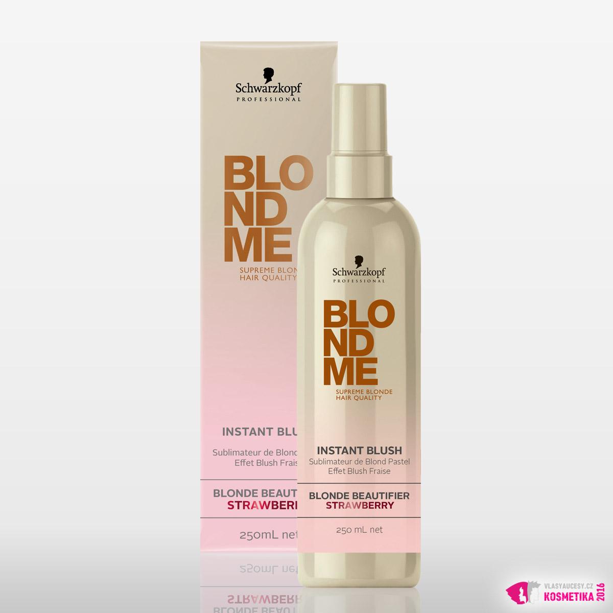 BlondMe Instant Blush - Blonde Beautifier Strawberry od Schwarzkopf Professional