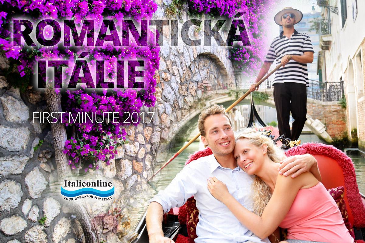 Romantická Itálie – nejlepší dovolenou třeba v Itálii najdete dnes jako first minute.