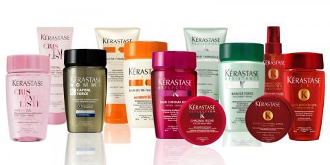 Cestovní balení kosmetiky Kérastase