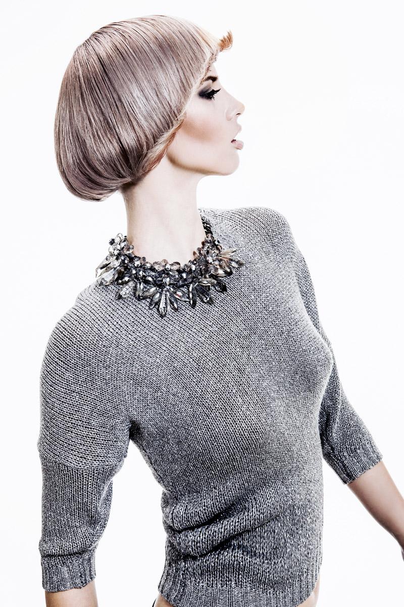 Účes Retro glamour styl, kadeřnictví Hair Art Design – Monika Kostecká.