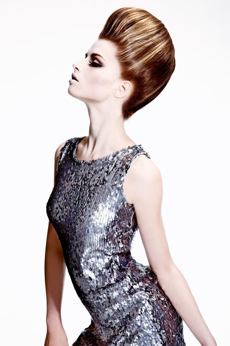 Účes Pop styl, kadeřnictví Hair Art Design – Monika Kostecká.