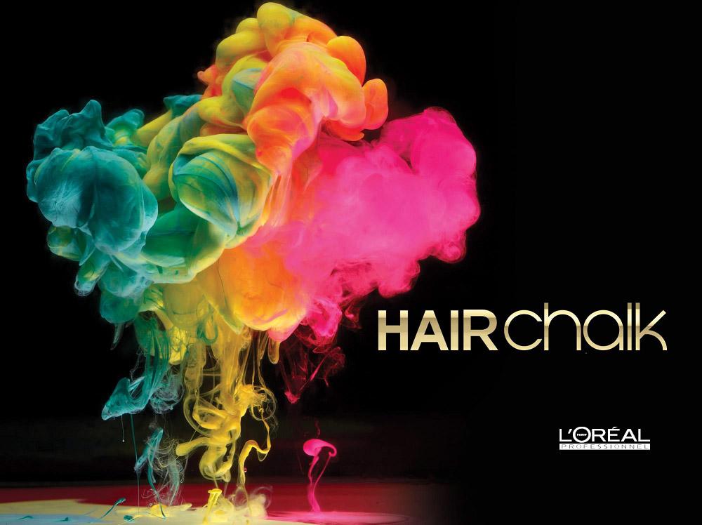 Hairchalk je první make-up na vlasy