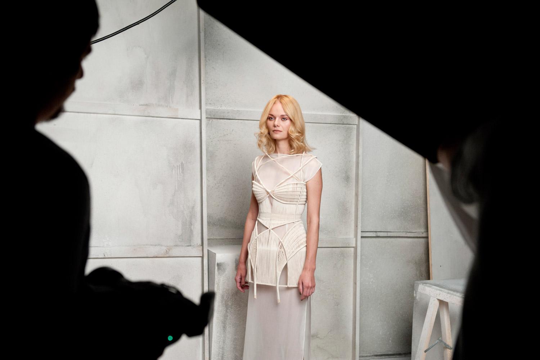 A fotíme… Golden lob Ireny Vavruškové na modelce.