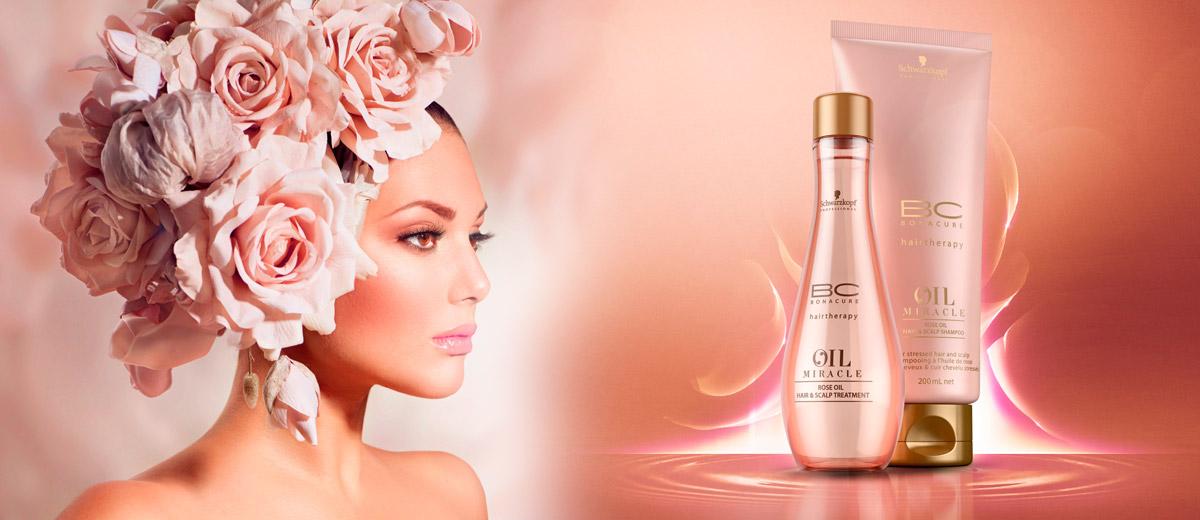 BC Oil Miracle Rose Oil – růžová budoucnost pro naše vlasy!
