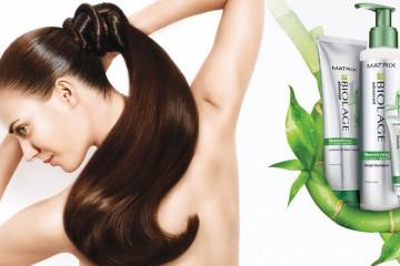 Profesionální vlasová péče Biolage Fiber Strong obnovuje od přírody slabé a lámavé vlasy díky speciální technologii a výtažku z bambusu.