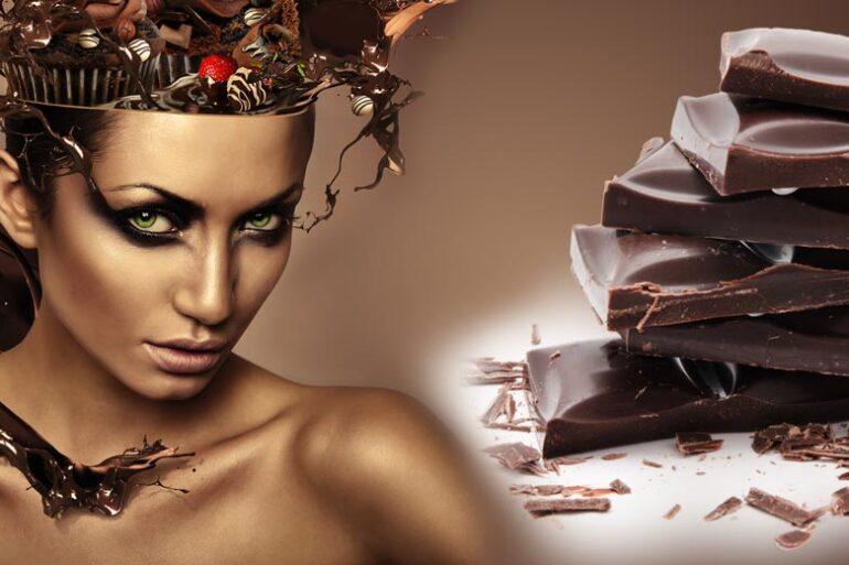 Čokoláda proti šedinám