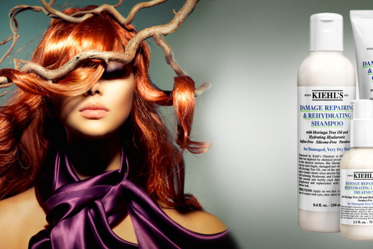 Damage Reparing & Rehydrating Haircare pro poškozené a extrémně suché vlasy