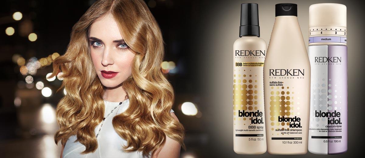Redken Blonde Idol – speciální vlasová kosmetika pro blond vlasy