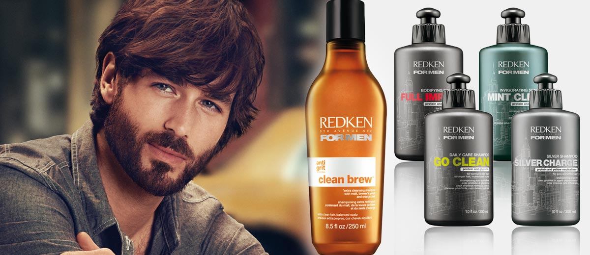 Šampon pro muže má svá specifika – seznamte se s produkty od REDKEN