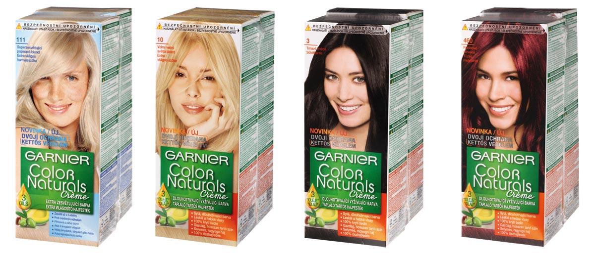 Řada barev Color Naturals od Garnier