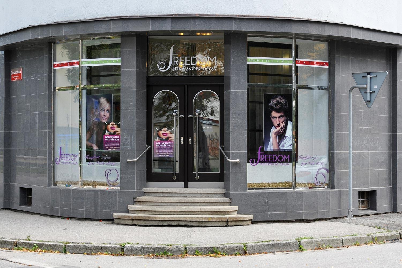 V Českých Budějovicích najdete kadeřnický salon FREEDOM