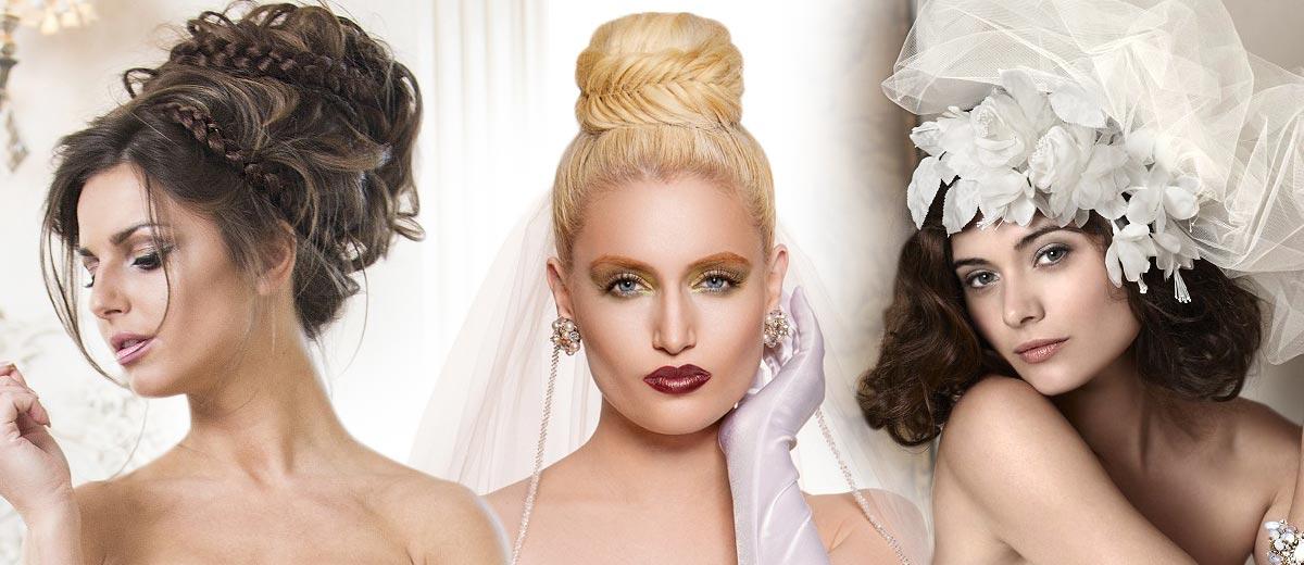 Galerie účesů – svatební účesy