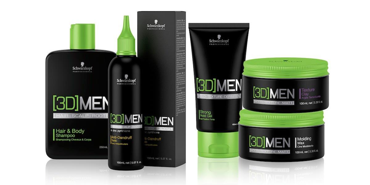 Vyzkoušejte komplexní servis o pánské vlasy s [3D]MEN!