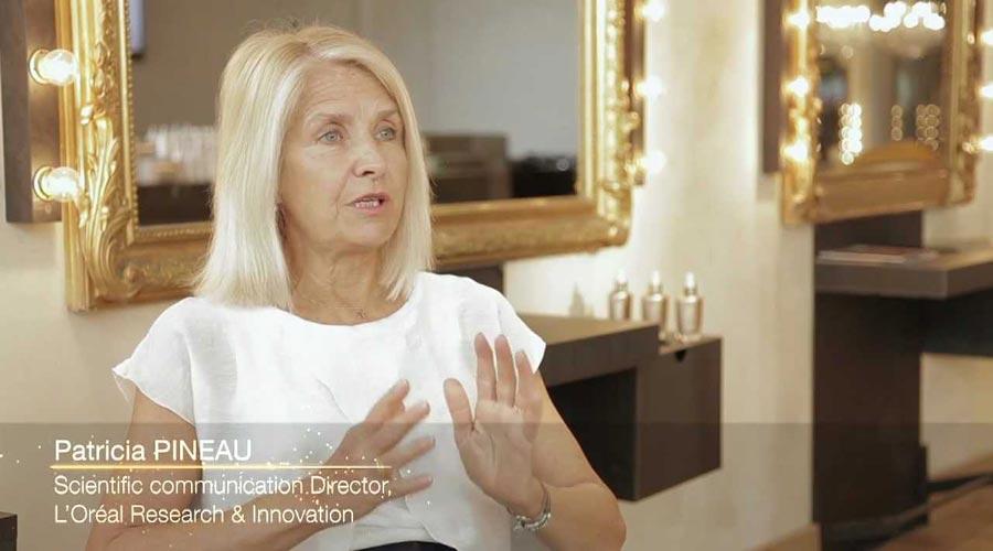 Patricia Pineau, ředitelka komunikace sekce Research & Innovation L'Oréal.