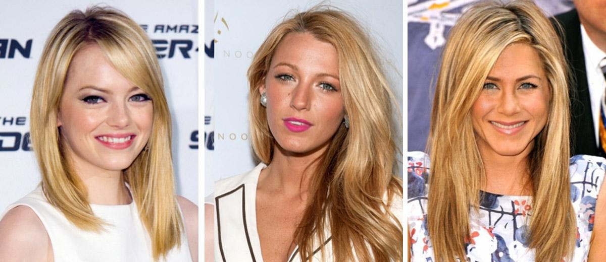 Taky ve vlasech je tuto sezonu módní nosit zlaté odstíny blond. Inspirovaly se nimi celebrity jako Emma Stone, Blake Lively nebo Jennifer Anniston.
