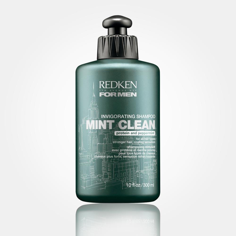 Šampon pro muže REDKEN FOR MEN – MINT CLEAN: povzbudí vaše vlasy.