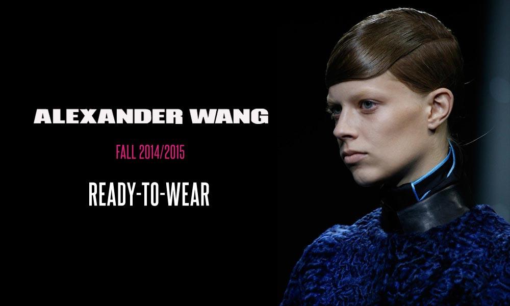 Účes z RTW kolekce Alexander Wang pro podzim a zimu 2014/2015 směle zkombinujete i s jeho kolekcí Alexander Wang pro H&M, která se ještě letos objeví na pultech vybraných H&M butiků.