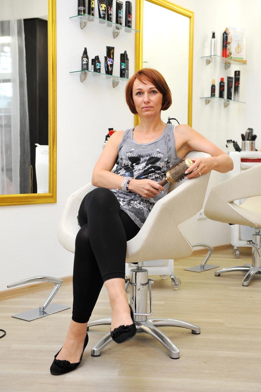 Jitka Svobodová, majitelka kadeřnického salonu FREEDOM v Českých Budějovicích