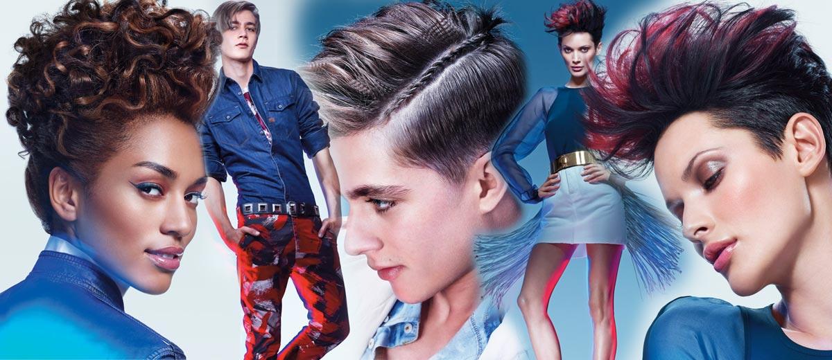 Jak to vypadá, když se Matrix kadeřníci inspirují kultovní tkaninou, která je snad největším módním evergreenem všech dob? Podívejte se!
