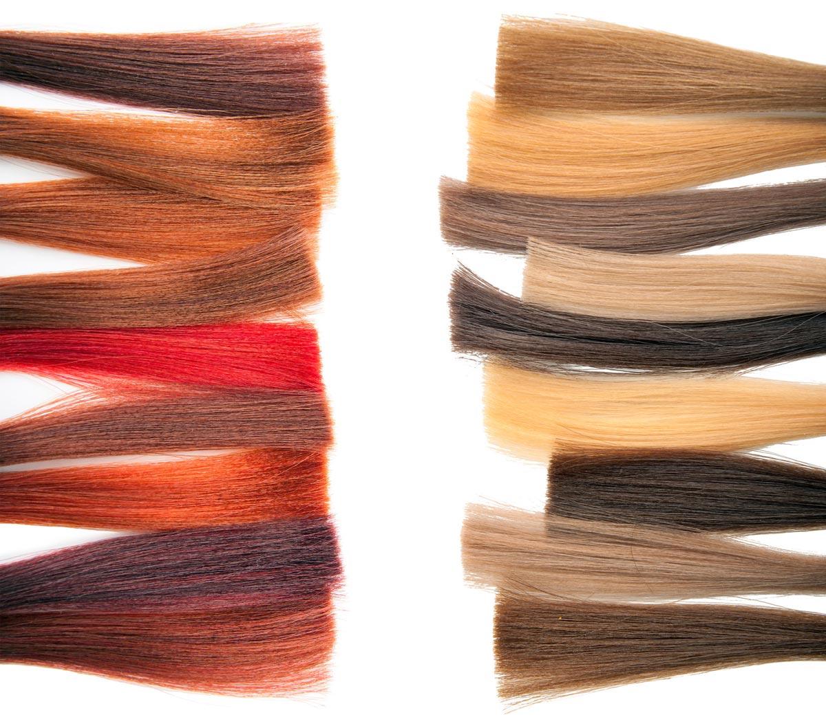 Barvy na vlasy pro domácí barvení vlasů mají nespočet barev a odstínů.