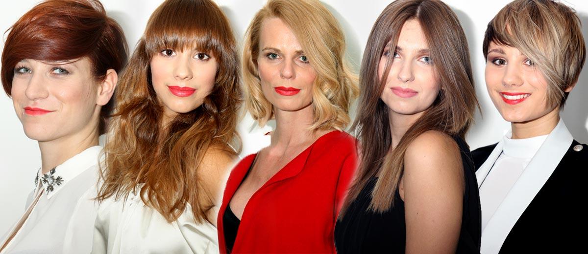 Hledáte podzimní účesy? Pět inspirativních účesů můžete vidět jako výsledek práce českých a slovenských kadeřníků L'Oréal Professionnel.